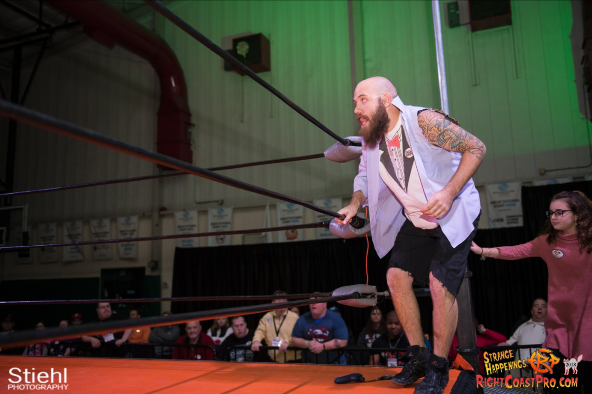 5 Hair Beard RCP49 RIGHTCOASTPRO WRESTLING DELAWARE