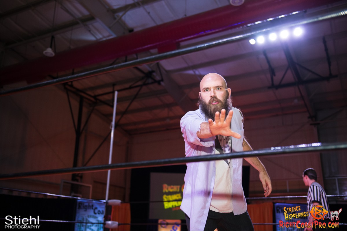 6 Hair Beard RCP49 RIGHTCOASTPRO WRESTLING DELAWARE