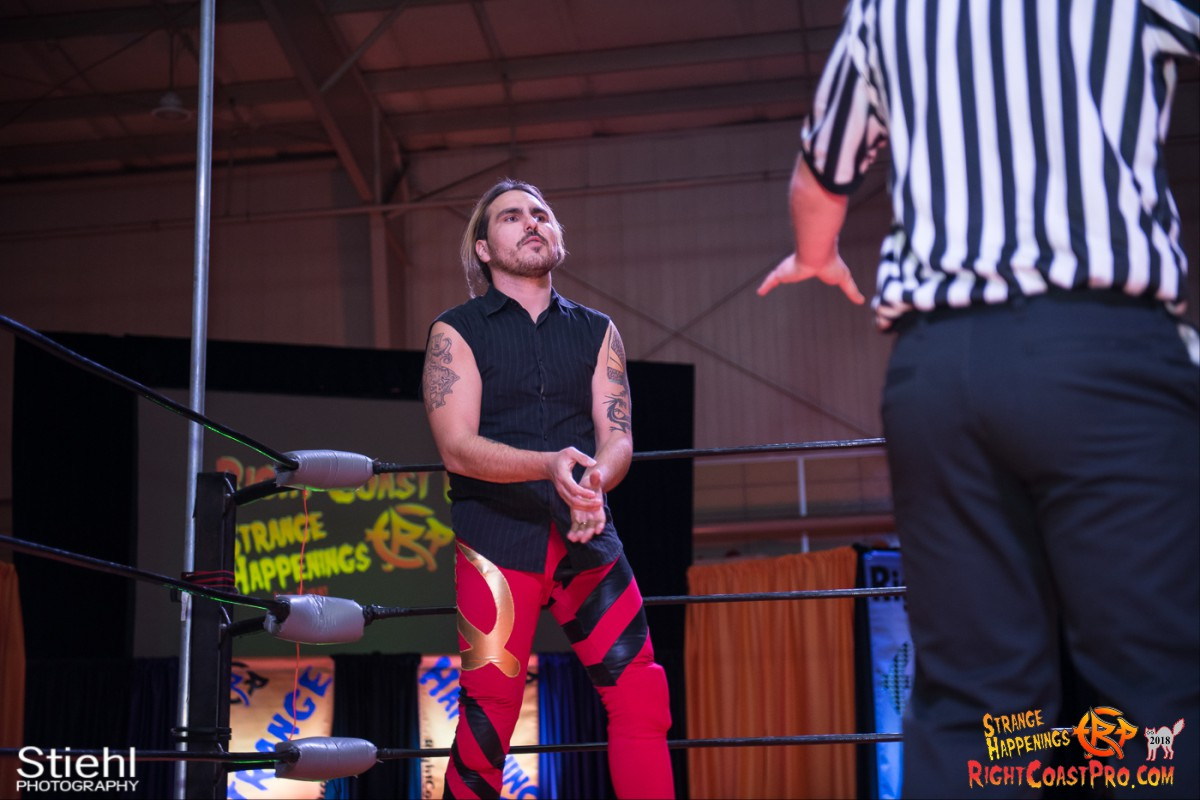 7 Hair Beard RCP49 RIGHTCOASTPRO WRESTLING DELAWARE