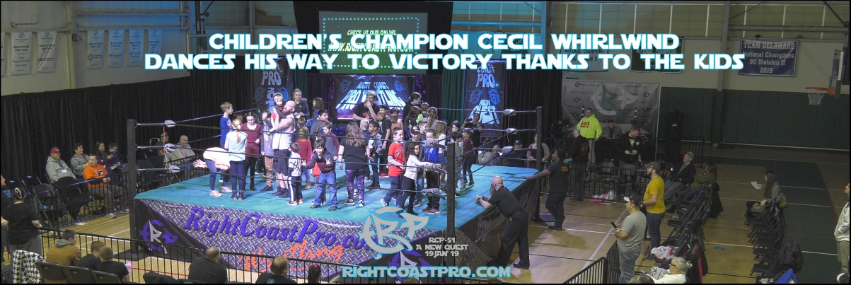 ChildrensChamp 1200 Banner RCP51 RightCoastProWrestlingDelaware