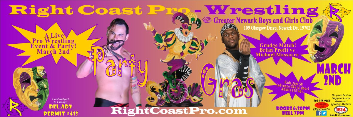Profit Massacre 1200 RCP52 PARTYGRAS RIGHTCOASTPRO