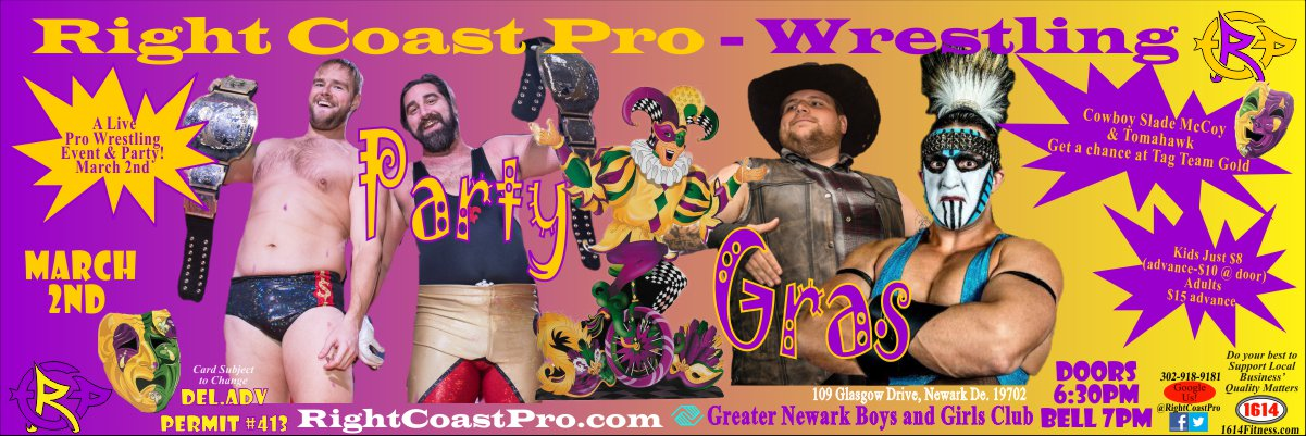 TagTitles 1200 RCP52 PARTYGRAS RIGHTCOASTPRO