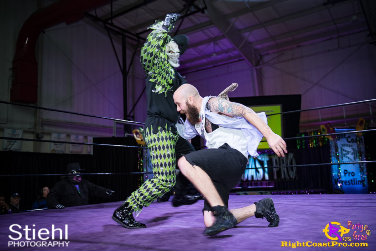Cecil Whirly 12 RCP52 PARTYGRAS rightcoastpro wrestling delaware
