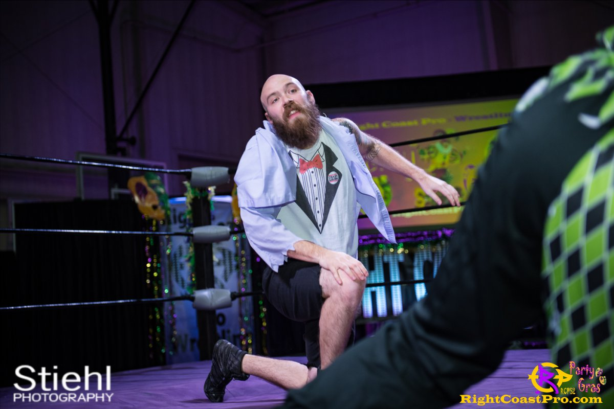 Cecil Whirly 13 RCP52 PARTYGRAS rightcoastpro wrestling delaware