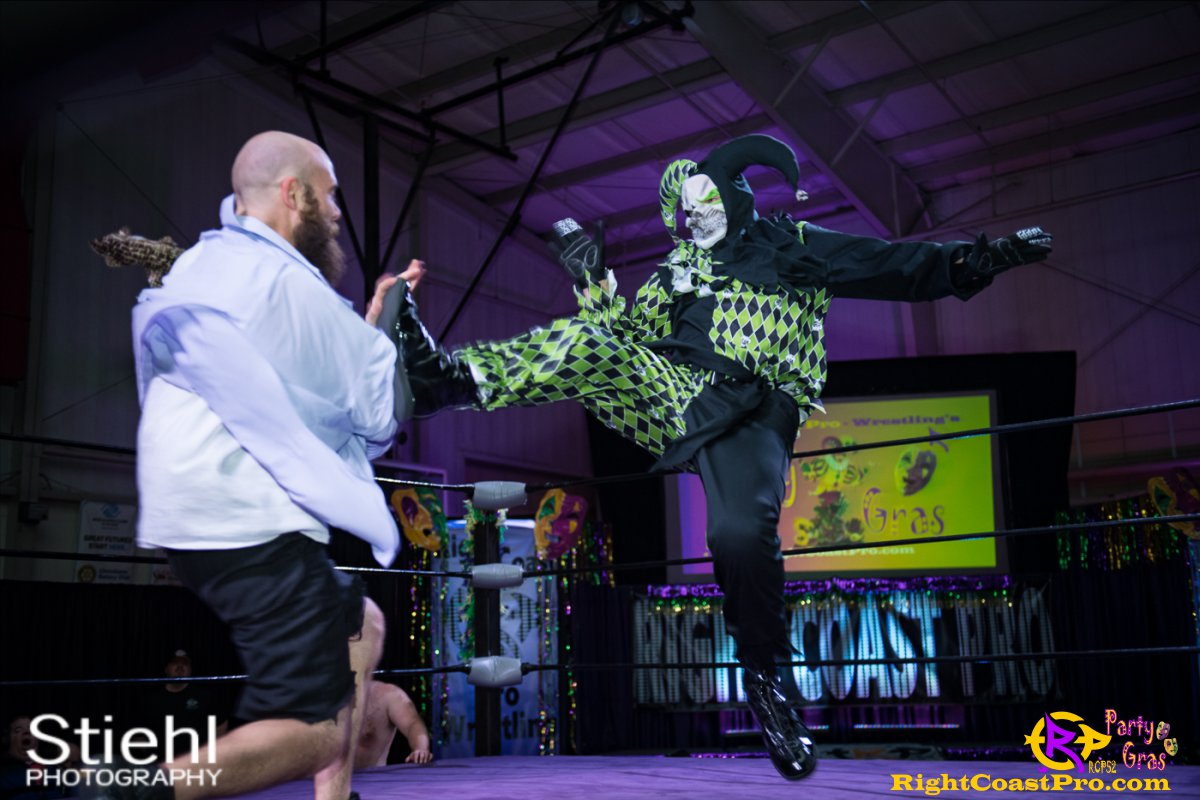 Cecil Whirly 17 RCP52 PARTYGRAS rightcoastpro wrestling delaware