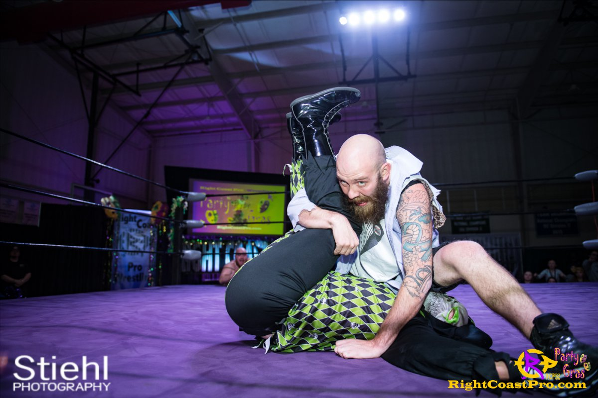 Cecil Whirly 18 RCP52 PARTYGRAS rightcoastpro wrestling delaware
