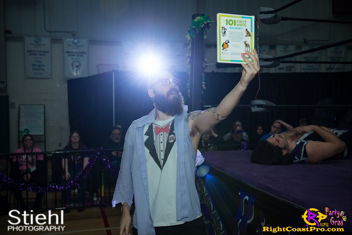 Cecil Whirly 4 RCP52 PARTYGRAS rightcoastpro wrestling delaware