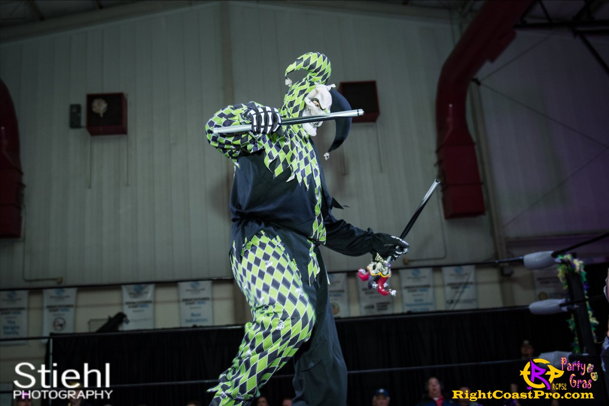Cecil Whirly 5 RCP52 PARTYGRAS rightcoastpro wrestling delaware