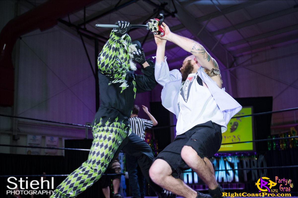 Cecil Whirly 6 RCP52 PARTYGRAS rightcoastpro wrestling delaware