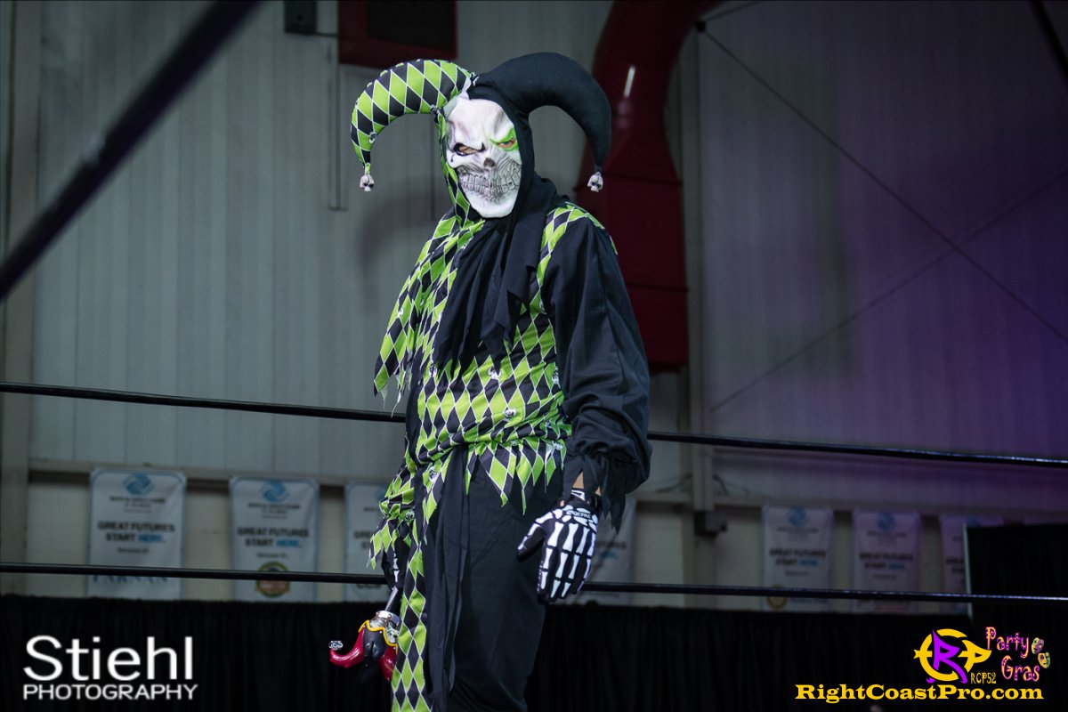 Cecil Whirly 7 RCP52 PARTYGRAS rightcoastpro wrestling delaware
