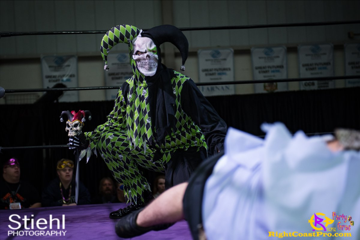 Cecil Whirly 8 RCP52 PARTYGRAS rightcoastpro wrestling delaware