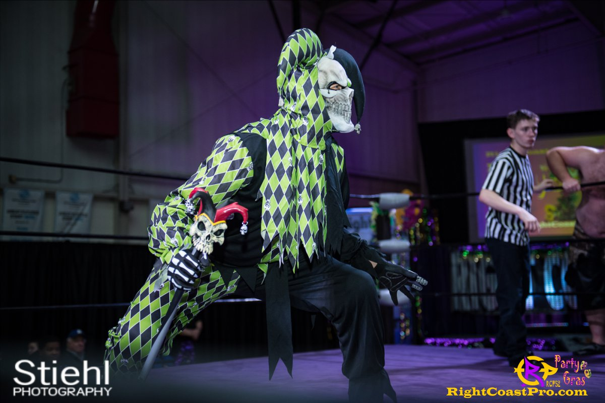 Cecil Whirly 9 RCP52 PARTYGRAS rightcoastpro wrestling delaware