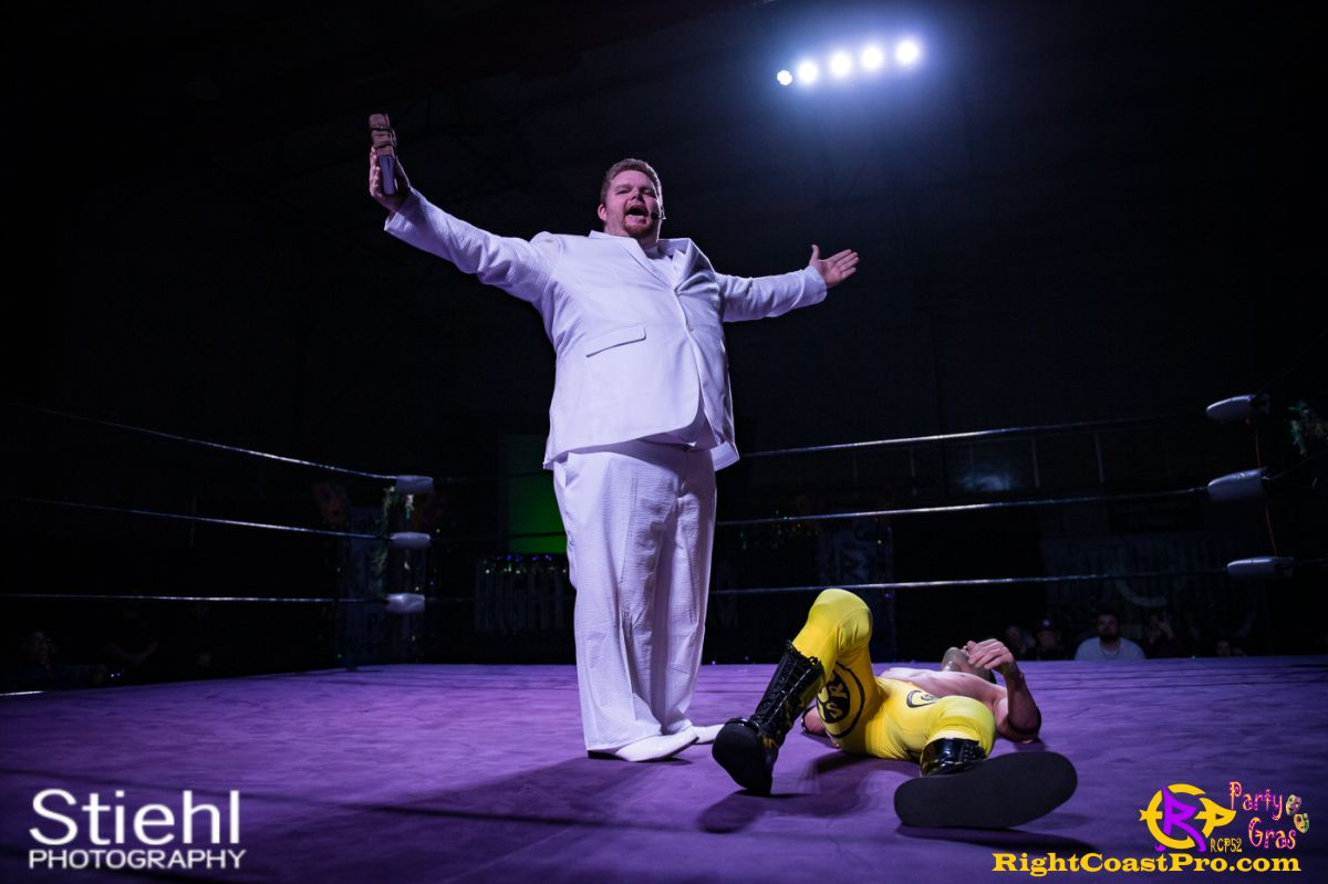 reverendDay a RCP52 PARTYGRAS rightcoastpro wrestling delaware