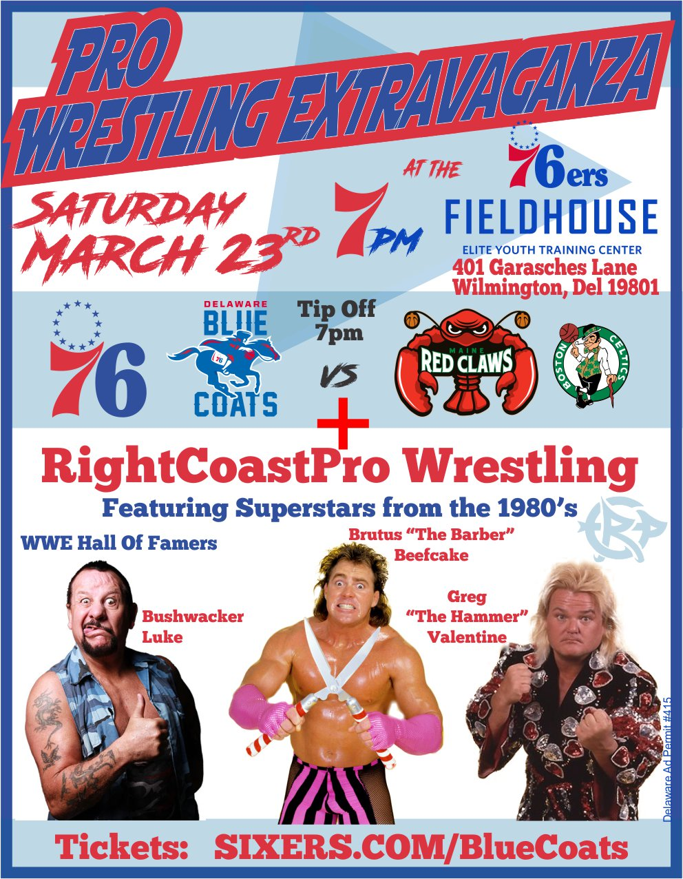 Pro Wrestling Extravaganza set for March 23