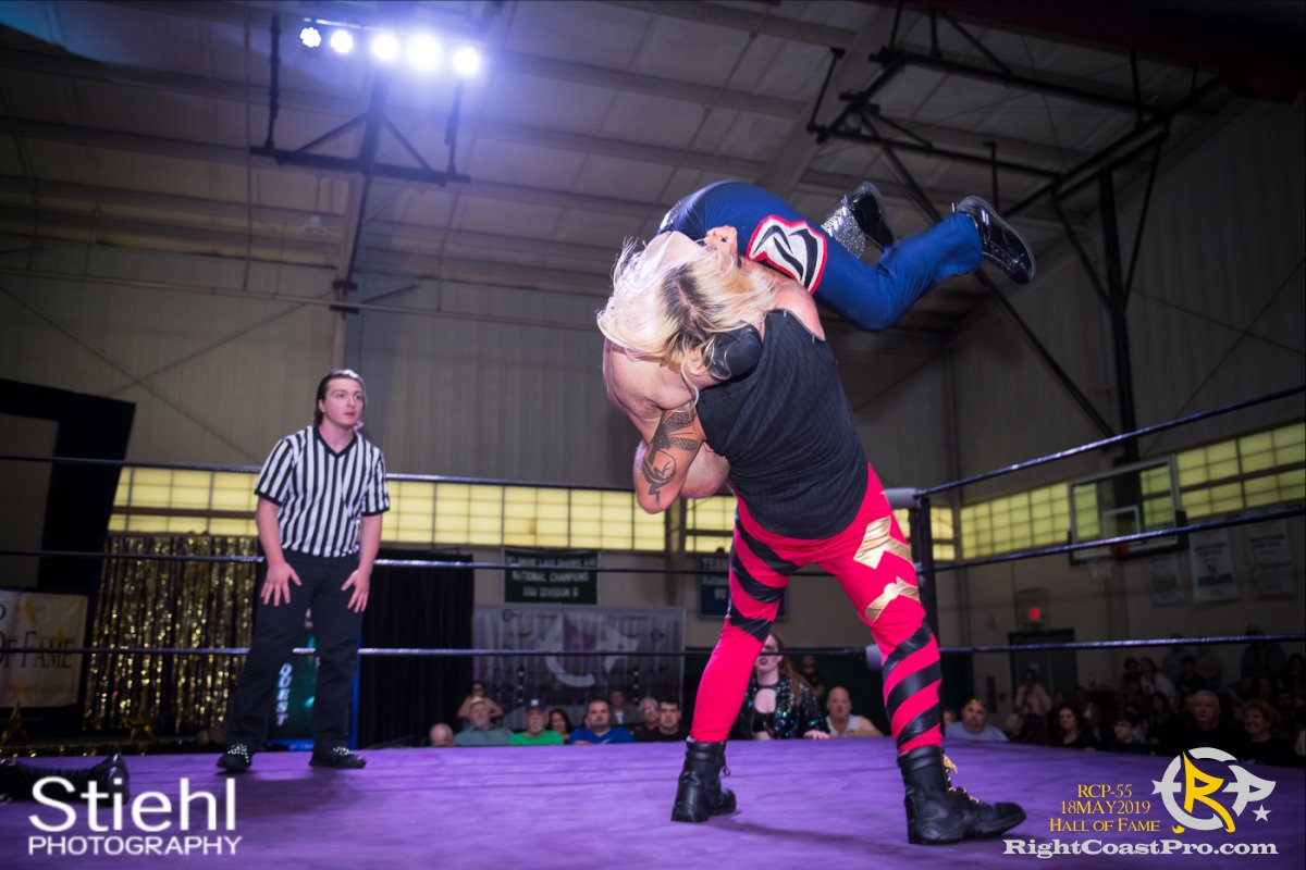 RCP55 18 rush fourway hof RightCoastProWrestlingDelaware