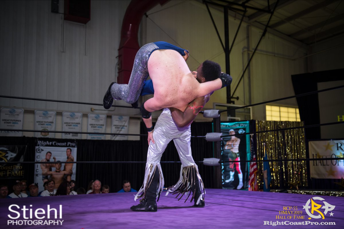 RCP55 20 rush fourway hof RightCoastProWrestlingDelaware