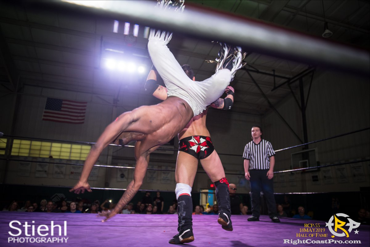 RCP55 23 rush fourway hof RightCoastProWrestlingDelaware