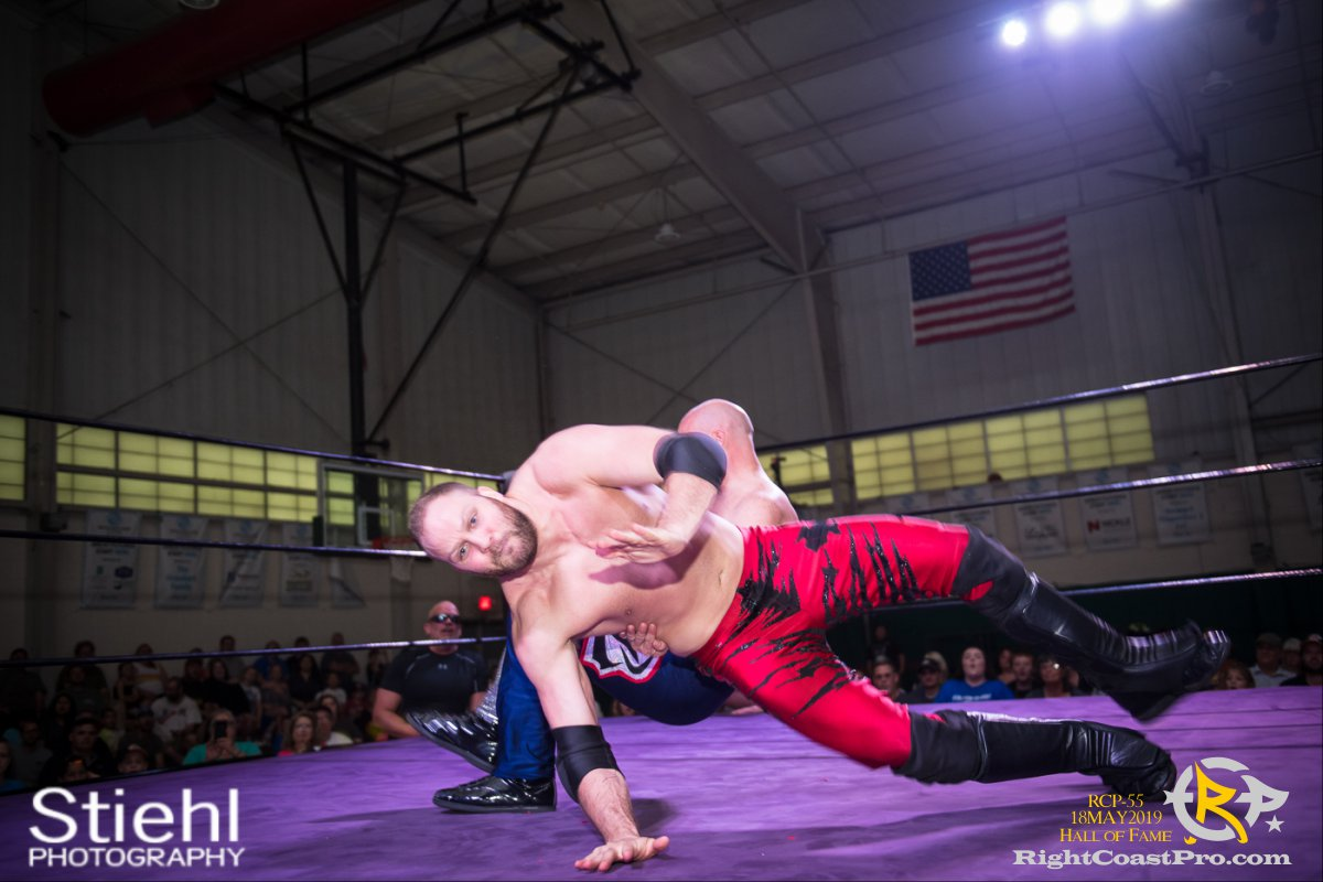 RCP55 32 rush fourway hof RightCoastProWrestlingDelaware
