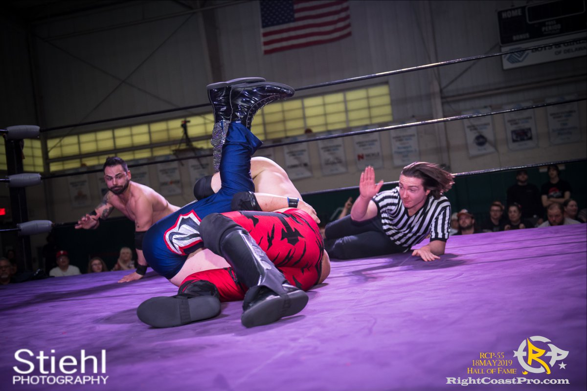 RCP55 33 rush fourway hof RightCoastProWrestlingDelaware