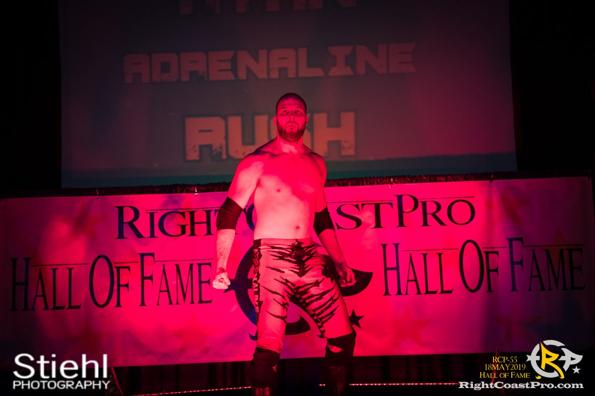 RCP55 36 rush fourway hof RightCoastProWrestlingDelaware