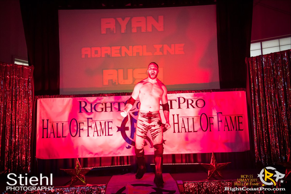 RCP55 37 rush fourway hof RightCoastProWrestlingDelaware