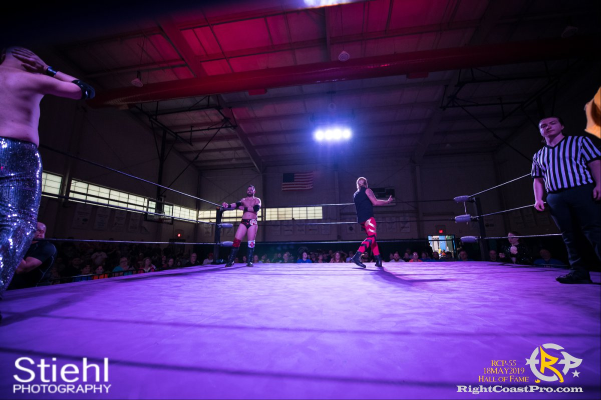 RCP55 5 rush fourway hof RightCoastProWrestlingDelaware
