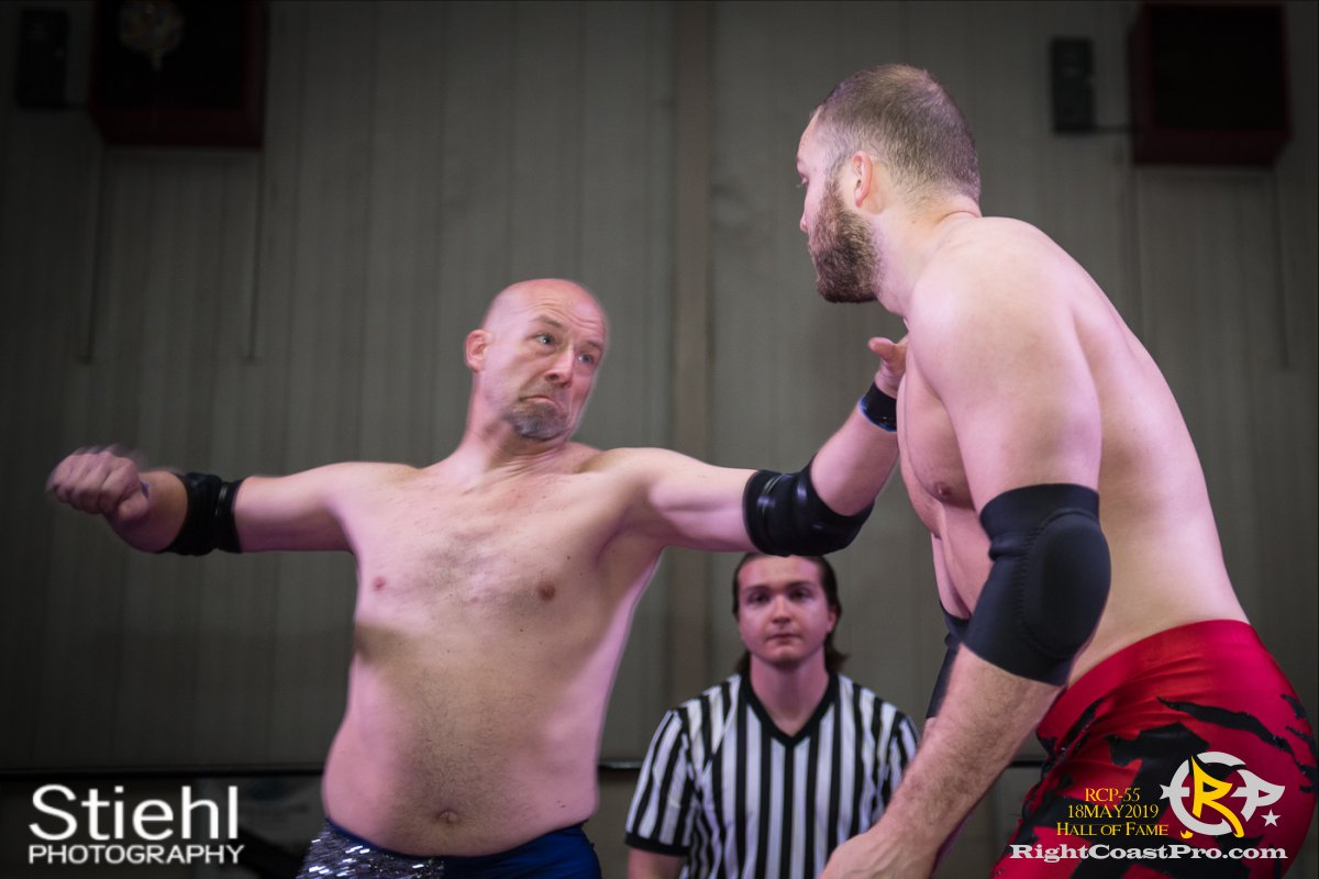 RCP55 6 rush fourway hof RightCoastProWrestlingDelaware