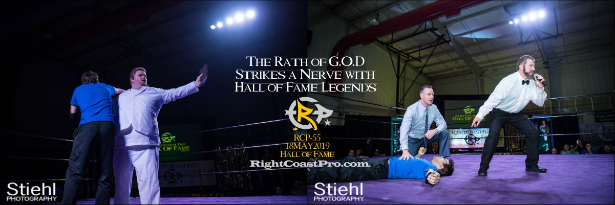 RCP55 GOD 1200 hof RightCoastProWrestlingDelaware