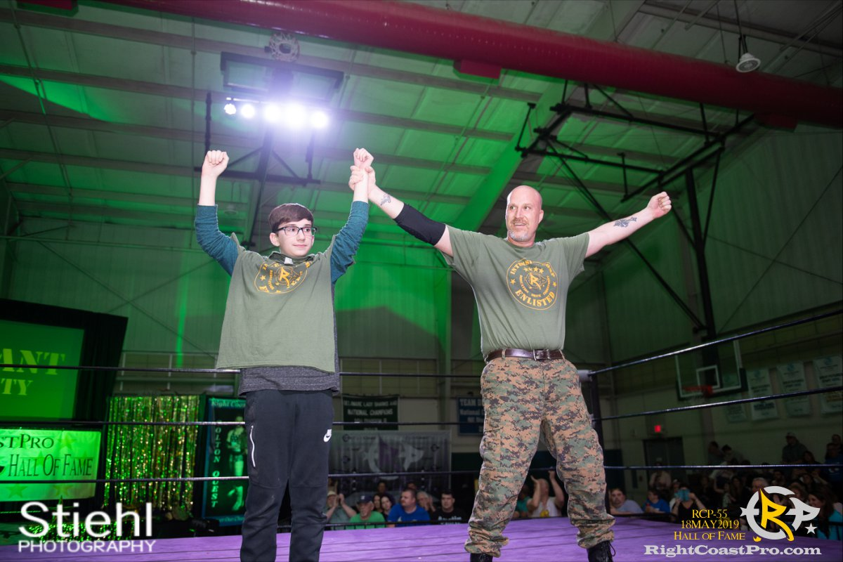 RCP55 14 sgt intensity hof RightCoastProWrestlingDelaware