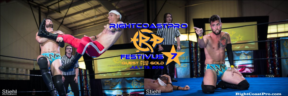 RCP56 1200 Royal James FESTIVUS rightcoastpro wrestling delaware