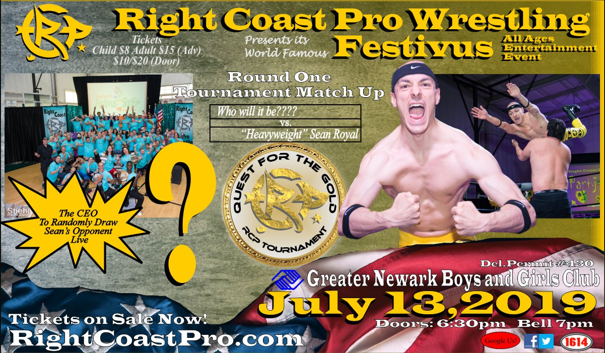Roya who RCP56 RightCoastPro Wrestling Delaware Event