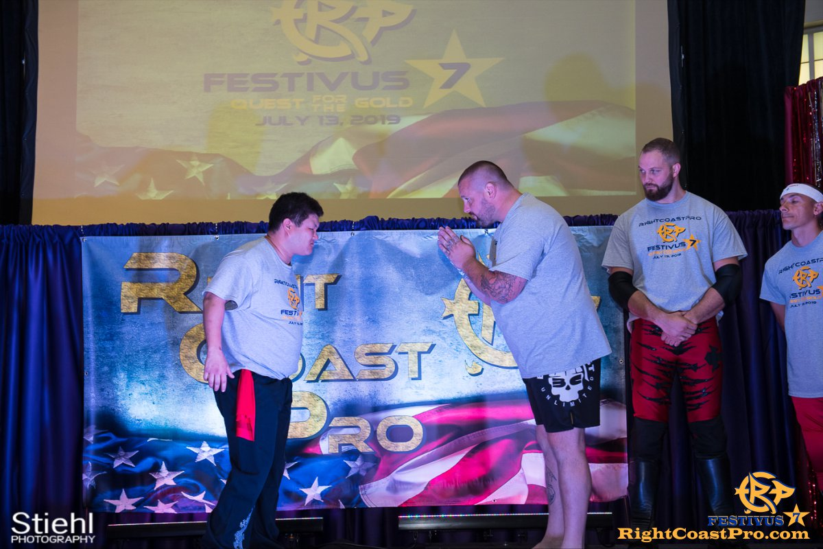 RCP56 10 NationalAnthem FESTIVUS rightcoastpro wrestling delaware