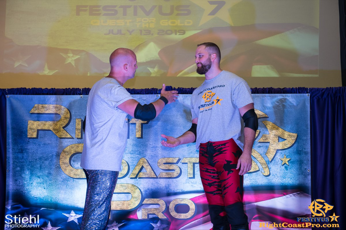 RCP56 11 NationalAnthem FESTIVUS rightcoastpro wrestling delaware