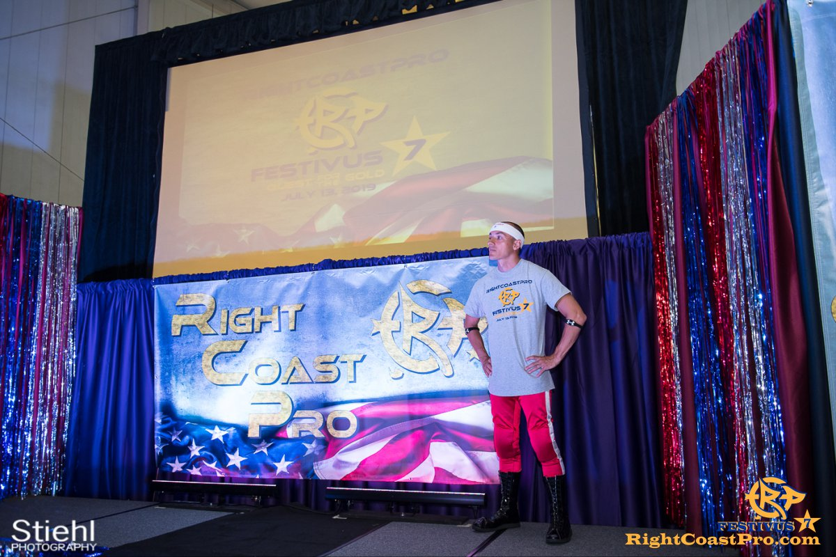RCP56 12 NationalAnthem FESTIVUS rightcoastpro wrestling delaware