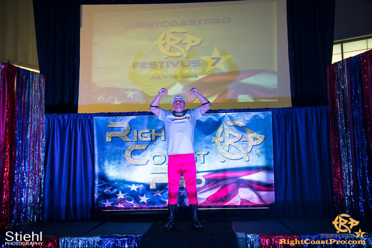 RCP56 13 NationalAnthem FESTIVUS rightcoastpro wrestling delaware