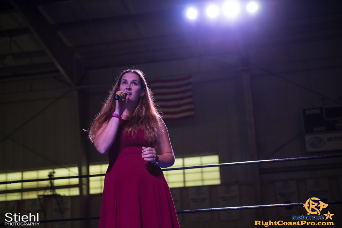 RCP56 19 NationalAnthem FESTIVUS rightcoastpro wrestling delaware
