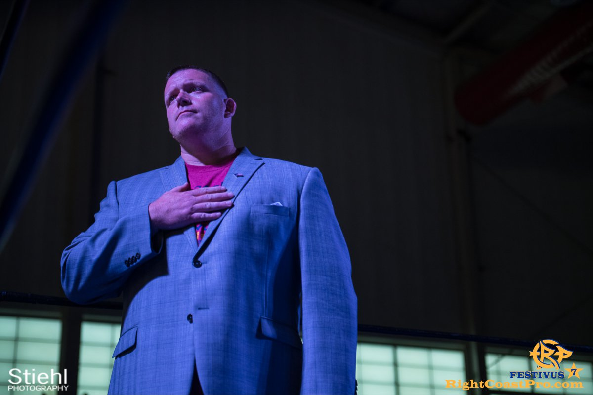 RCP56 4 NationalAnthem FESTIVUS rightcoastpro wrestling delaware