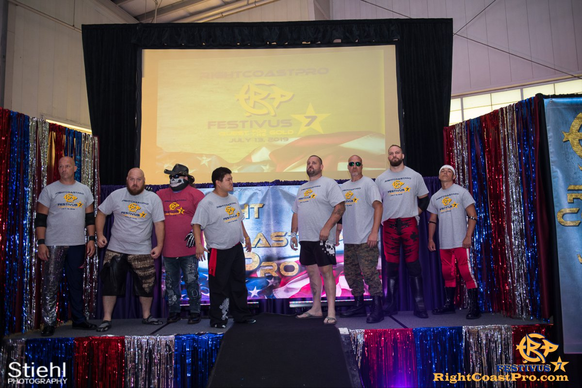 RCP56 6 NationalAnthem FESTIVUS rightcoastpro wrestling delaware