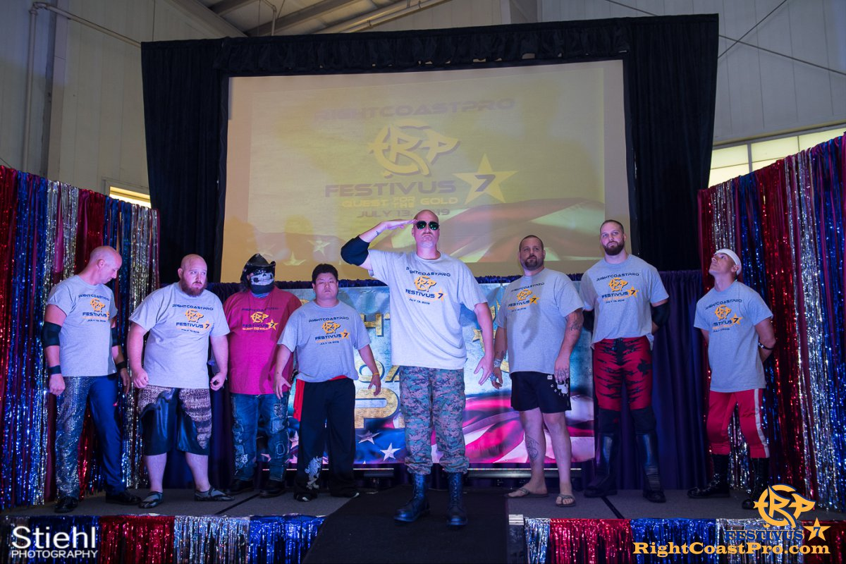 RCP56 7 NationalAnthem FESTIVUS rightcoastpro wrestling delaware