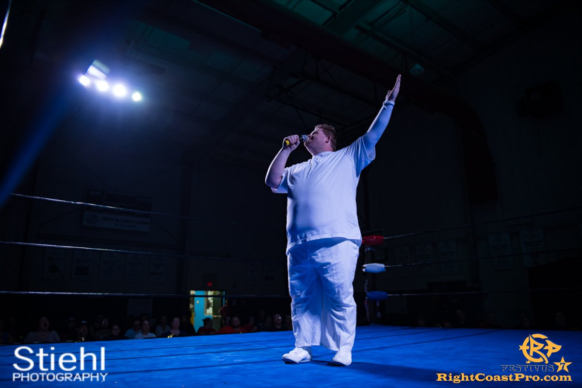 RCP56 Rumble 4 FESTIVUS rightcoastpro wrestling delaware