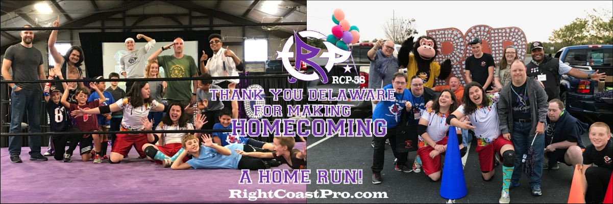 RCP58 1200 HIT Homecoming RightCoastProWrestlingDelaware