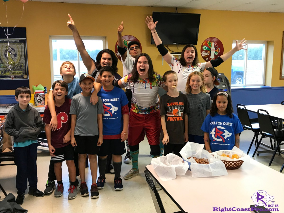 RCP58 2 Birthday Homecoming RightCoastProWrestlingDelaware