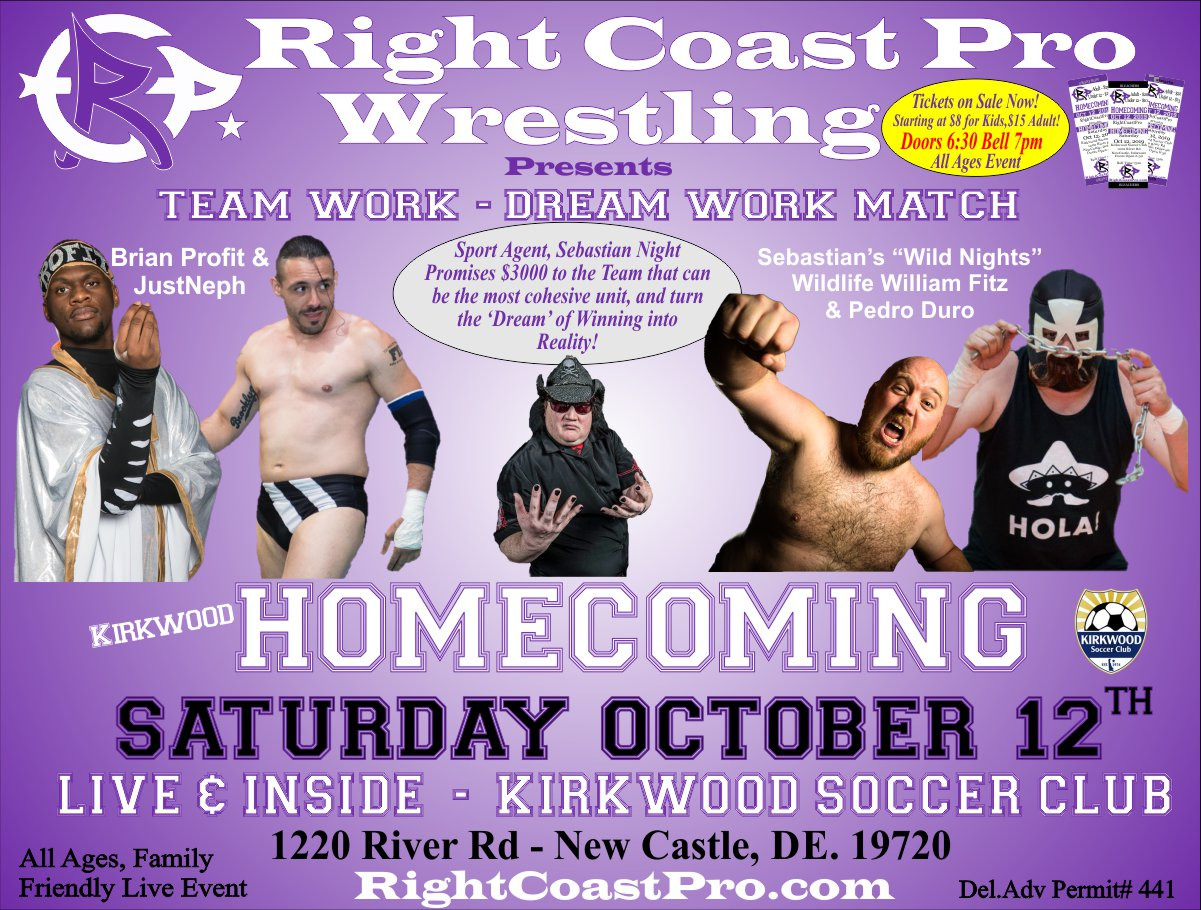 RCP58 TeamworkMatch Homecoming RightCoastPro