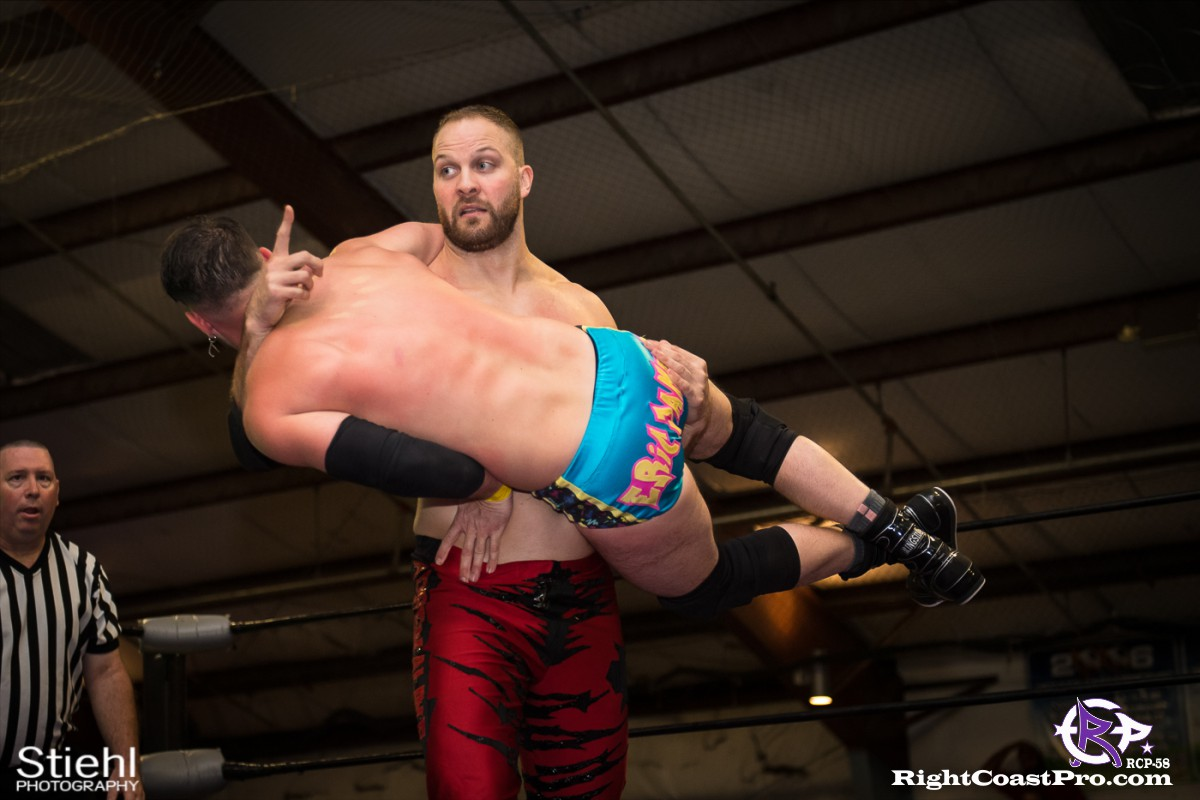 RCP58 12 heavyweight championship Homecoming RightCoastProWrestlingDelaware