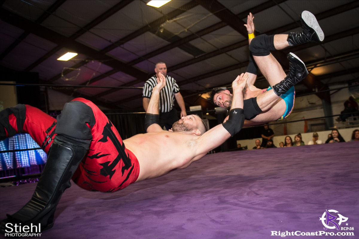 RCP58 13 heavyweight championship Homecoming RightCoastProWrestlingDelaware