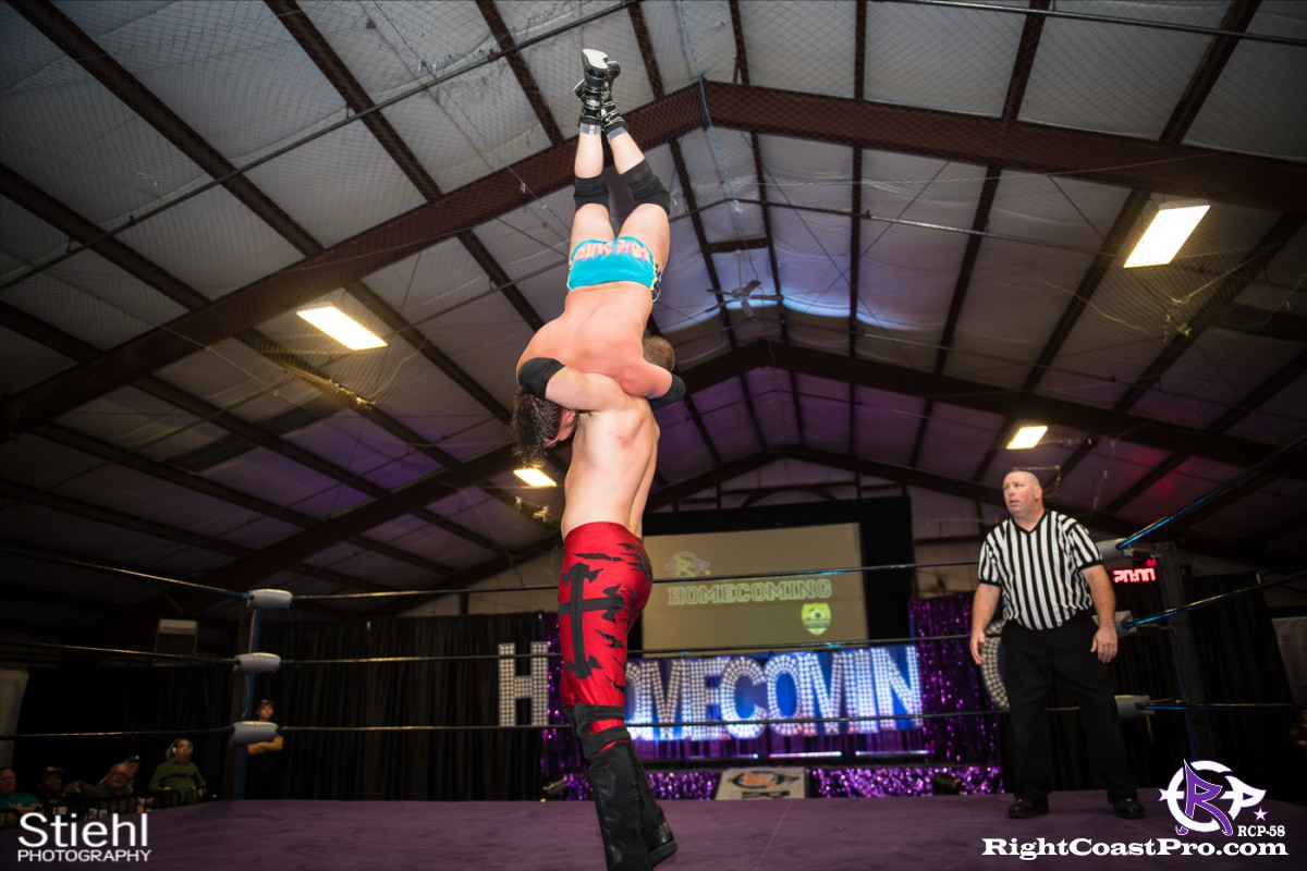 RCP58 17 heavyweight championship Homecoming RightCoastProWrestlingDelaware