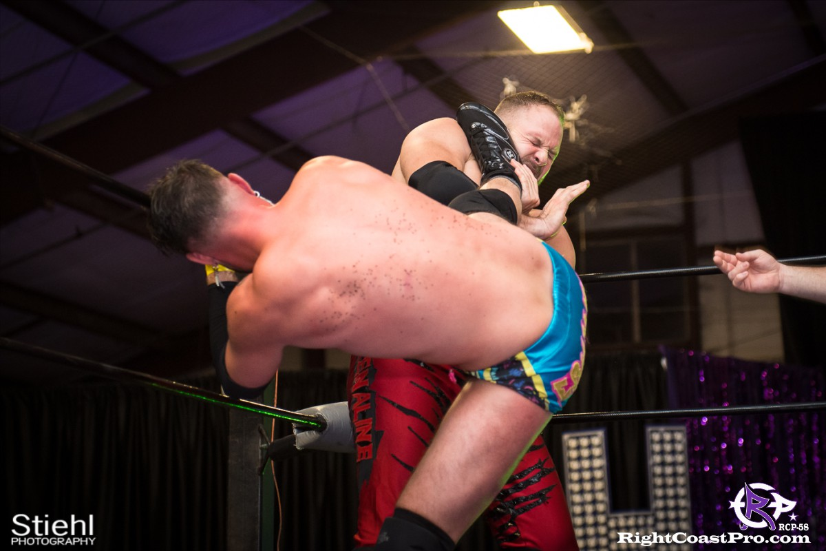 RCP58 20 heavyweight championship Homecoming RightCoastProWrestlingDelaware