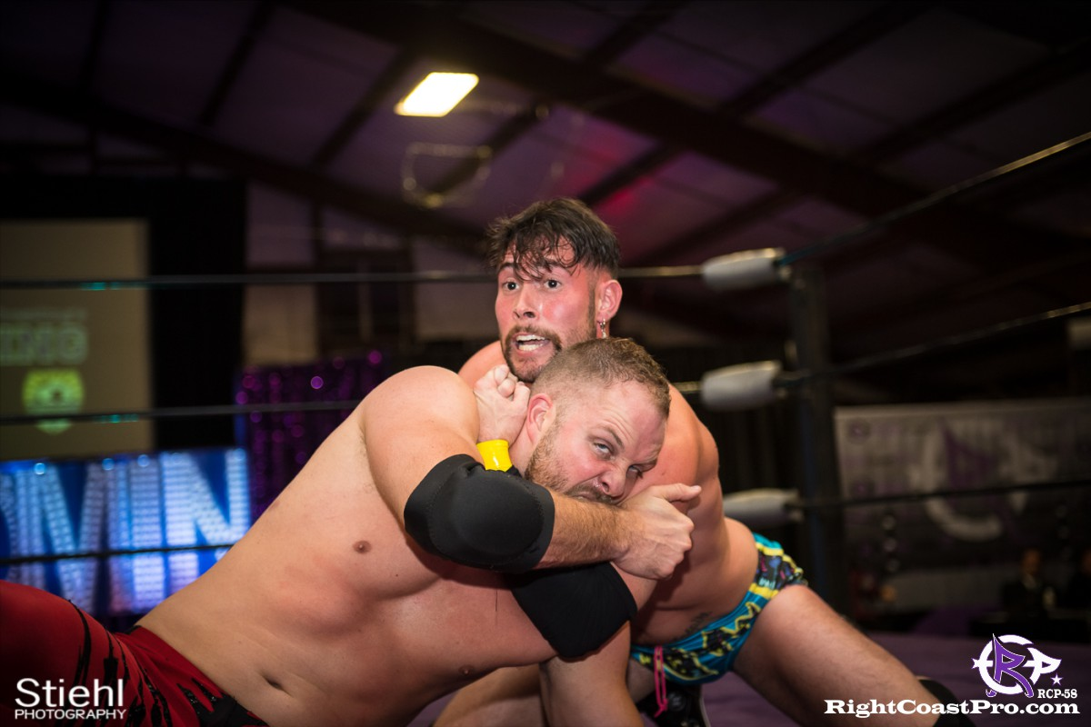RCP58 21 heavyweight championship Homecoming RightCoastProWrestlingDelaware