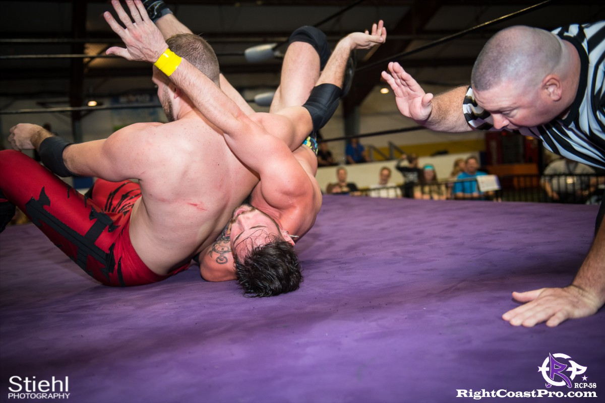 RCP58 24 heavyweight championship Homecoming RightCoastProWrestlingDelaware