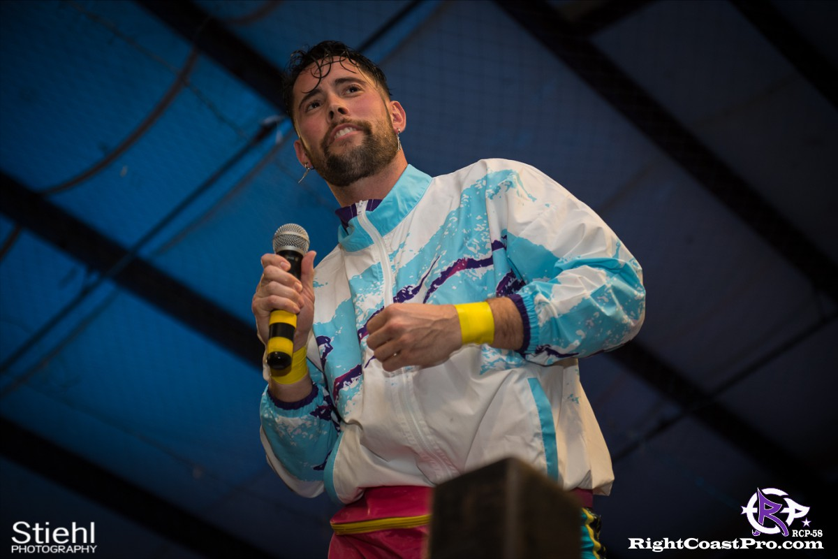 RCP58 3 heavyweight championship Homecoming RightCoastProWrestlingDelaware